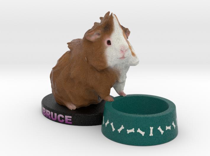 Custom Guinea Pig Figurine - Bruce 3d printed