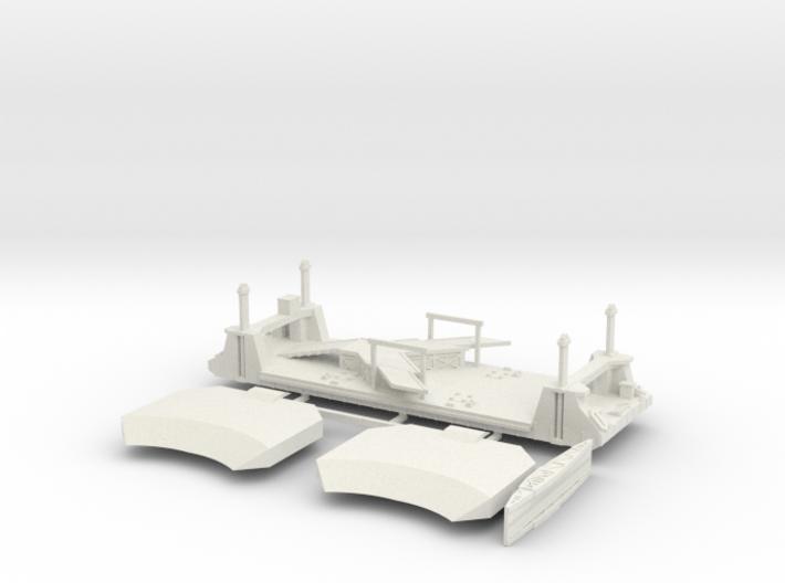 1/600 1 Off LST Pierhead 3d printed