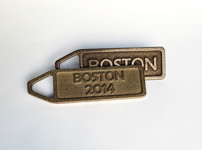 Customized Keychain - Running Keychain 3d printed