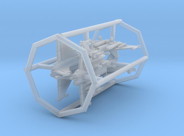 1/700 Rafale C/M with Gear x4 (FUD) 3d printed