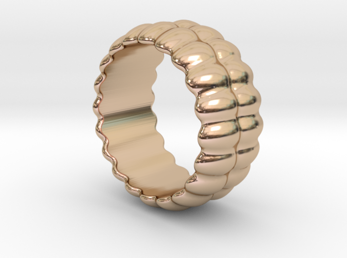 Mirror Ring 15 - Italian Size 15 3d printed