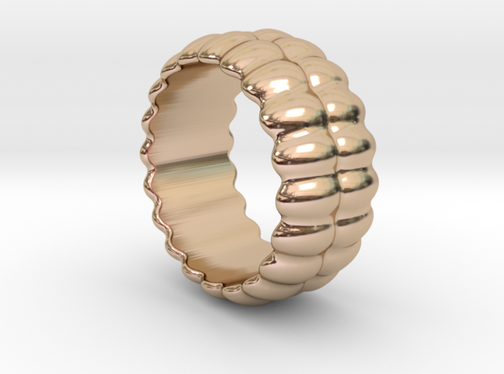 Mirror Ring 16 - Italian Size 16 3d printed