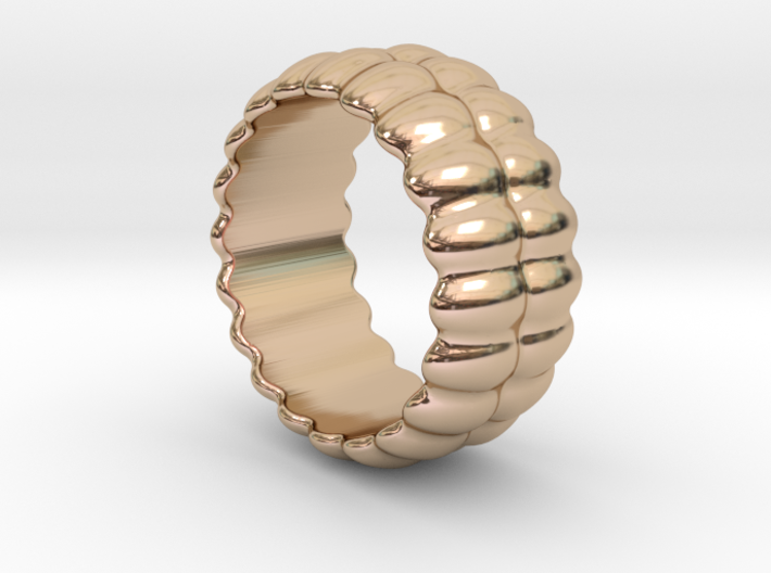 Mirror Ring 17 - Italian Size 17 3d printed