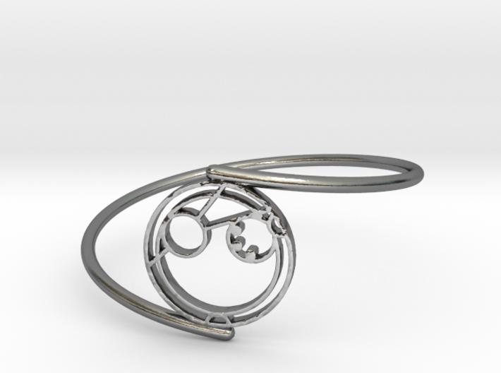 Adam - Bracelet Thin Spiral 3d printed
