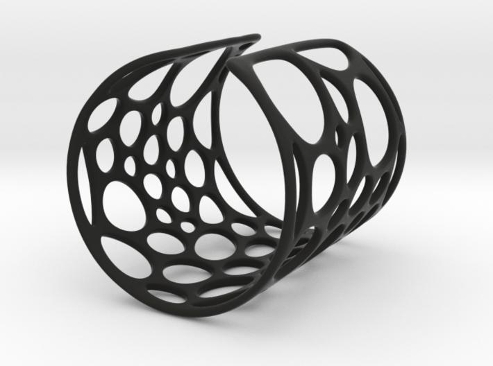 Voronoi Bracelet (LARGE) 3d printed
