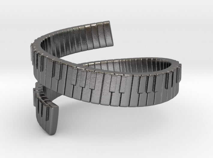 Pianooo Ring Size(US)-10 (19.84 MM) 3d printed