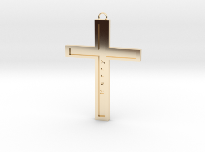 Christ personalized 3d printed