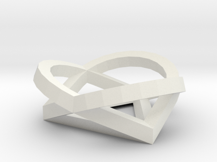PATHS White Plastic1 3d printed