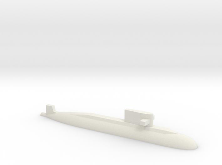 PLA[N] 039A Submarine, 1/2400 3d printed