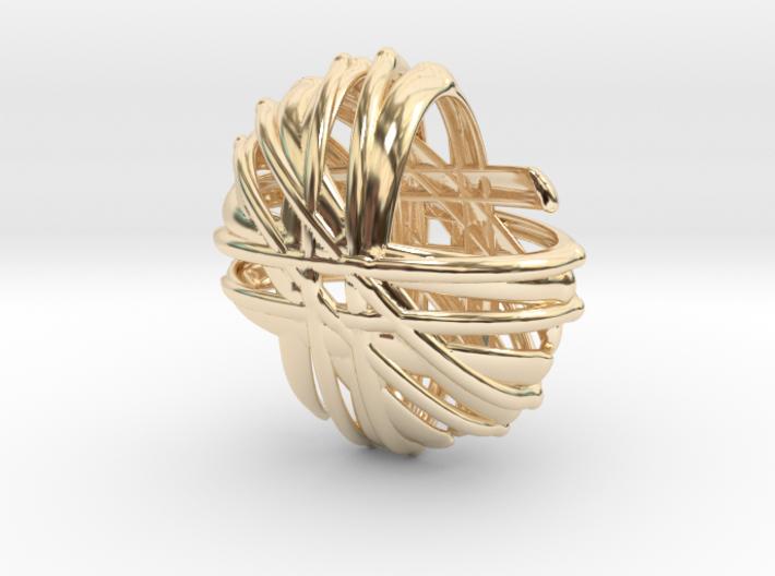 Branch pendant top 3d printed