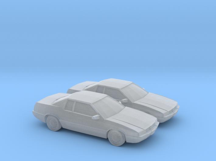 1/160 2X 1996 Cadillac Eldorado 3d printed