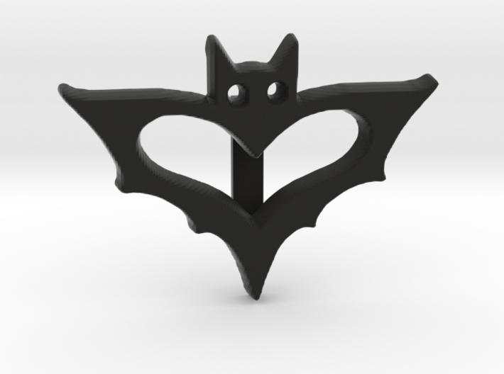 Bat Ribbon Charm 3d printed