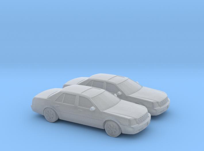 1/160 2X 2000 Cadillac DTS 3d printed