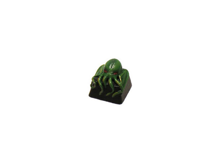 Cthulhu Cherry MX Keycap 3d printed This awesome paint job was done by Bosk!