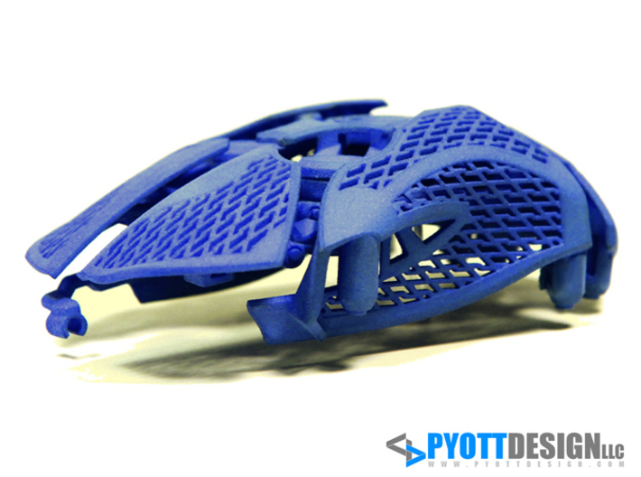 Statial Adjustable Mouse 3d printed