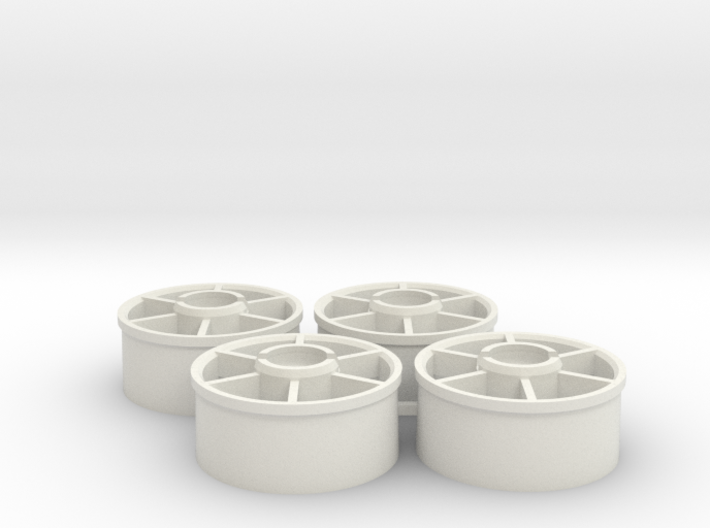 Mini-z Marka Wheelset +1.5mm 3d printed