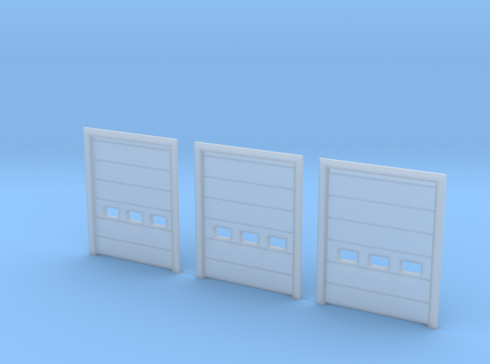N Scale Overhead Door 3pc 3d printed