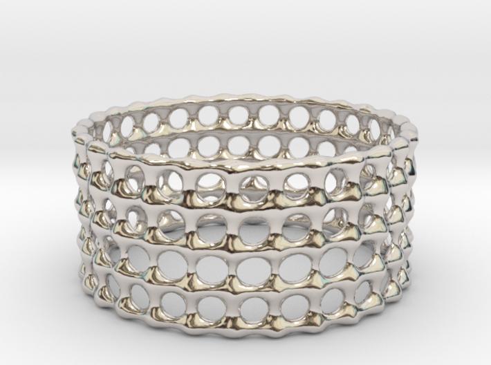 Lattice Ring No.3 3d printed