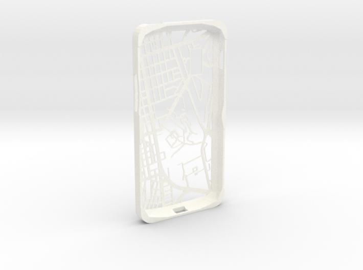 Nexus 4 Hong Kong Mongkok Map Phone Case 3d printed