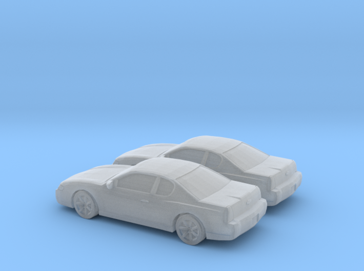 1/160 2X 2003 Chevrolet Monte Carlo 3d printed