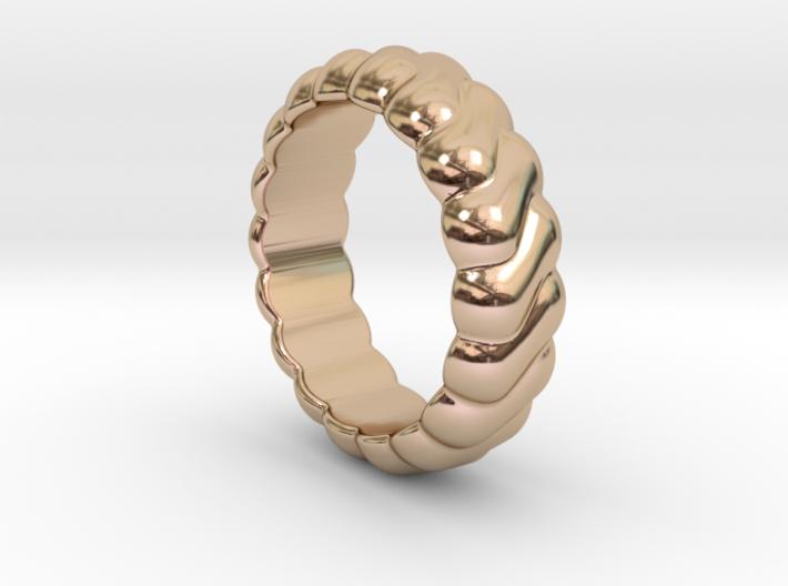 Harmony Ring 14 - Italian Size 14 3d printed