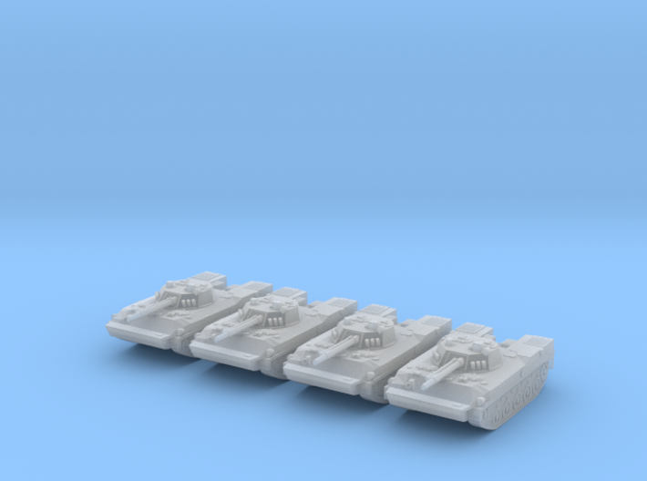 Russian BMD-4 Platoon 6mm High Res 3d printed