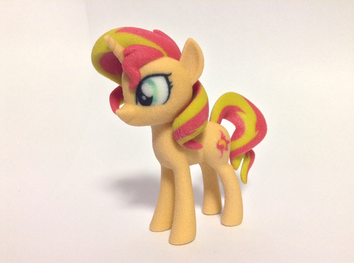 Sunset Shimmer 3d printed new texture
