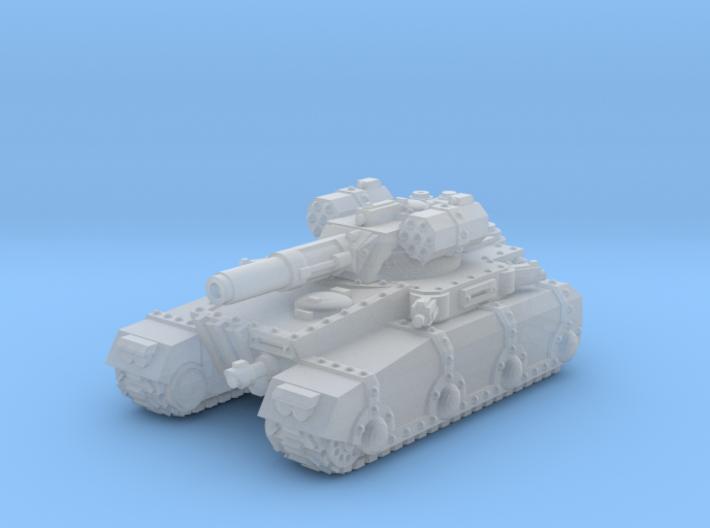 Irontank w. Medium Turret 3d printed