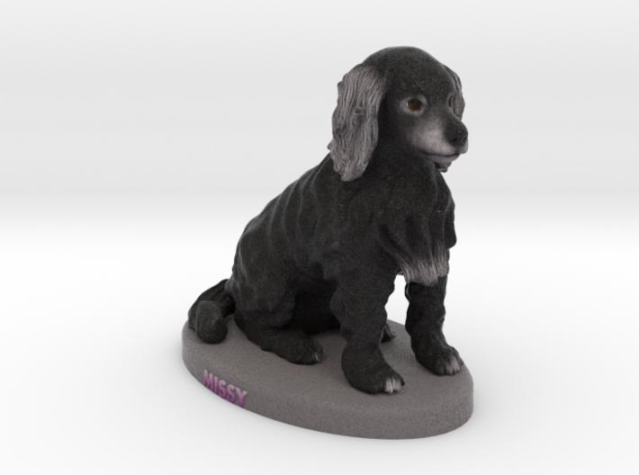 Custom Dog Figurine - Missy 3d printed