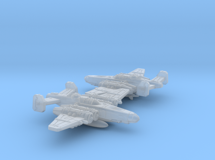 Fighterbomber Squadron 3d printed