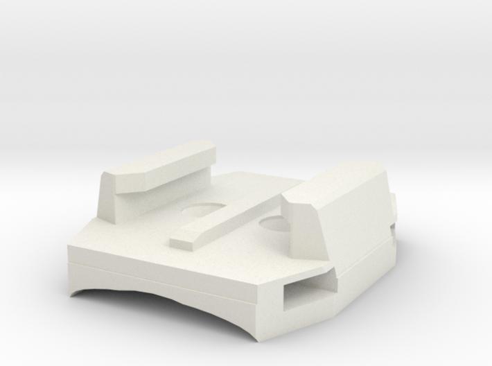 Copy Of Gopro Zip Mount Screw Mount (1) 3d printed