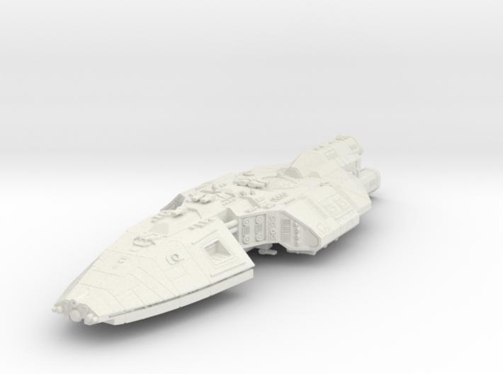 Heron spaceship 3d printed