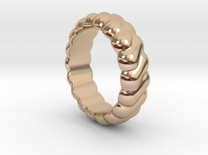 Harmony Ring 25 - Italian Size 25 3d printed