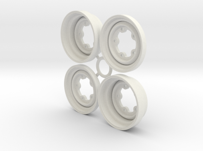 SRB VW style Wheels 1.5 3d printed