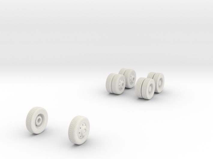wheels (repaired) 3d printed