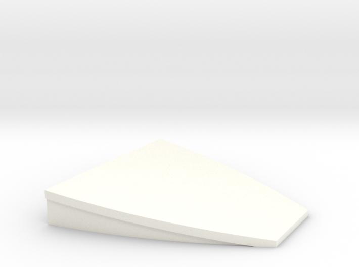 HO scale platform end (100mm width) 3d printed