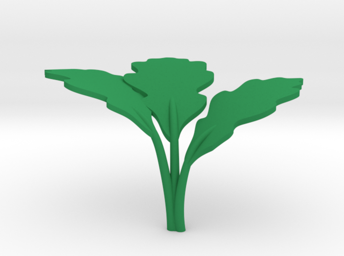 Carrot Leaves 3d printed