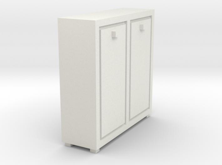 A 020 cabinet Schrank 1:87 3d printed