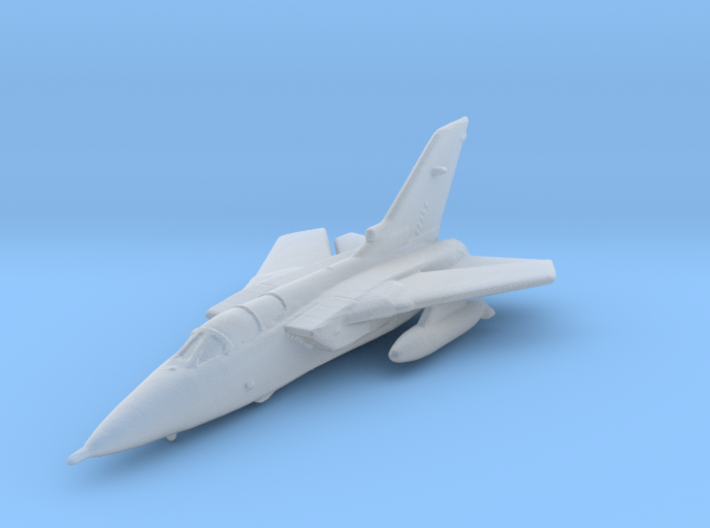 RAF Tornado Rescaled 1to500 Detailed 3d printed