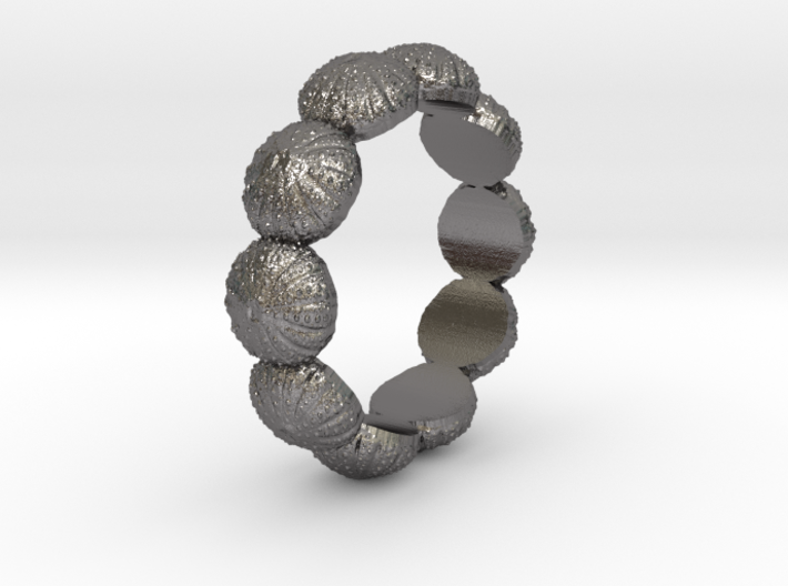 Urchin Ring 1 - US-Size 7 (17.35 mm) 3d printed