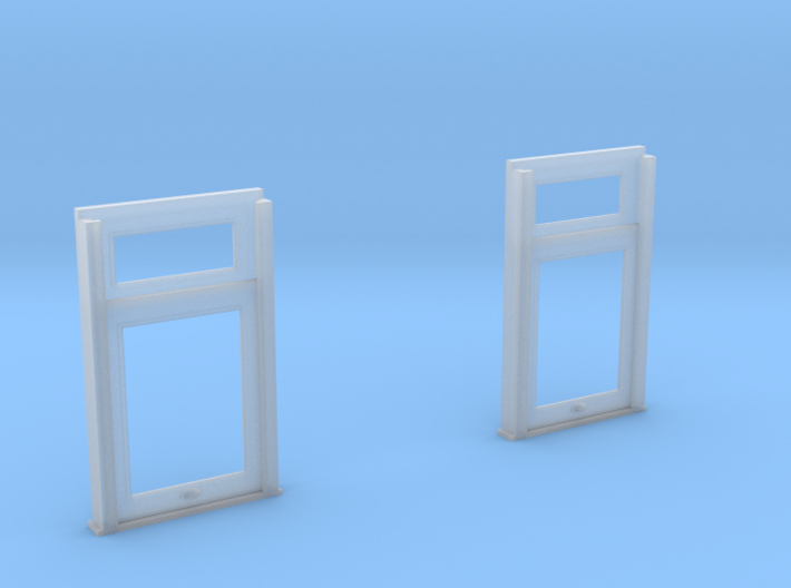 1:20 scale Carter Coach end windows 3d printed
