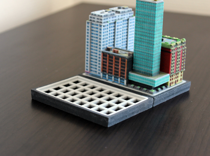 Empty Baseplate 8 x 4 3d printed