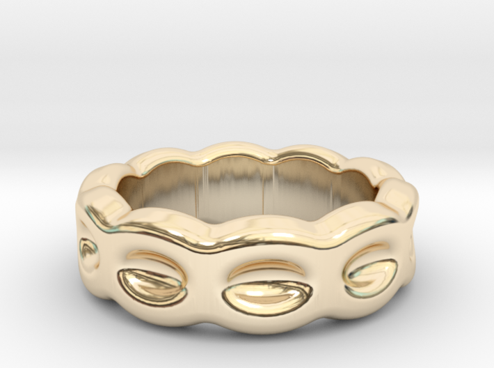 Funny Ring 28 - Italian Size 28 3d printed