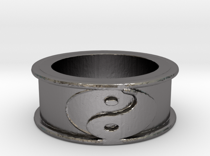 Yin Yang Ring Size 7.5 3d printed