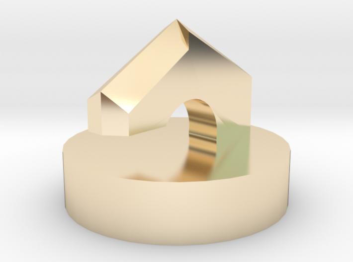 Builder's pendulum Top 3d printed