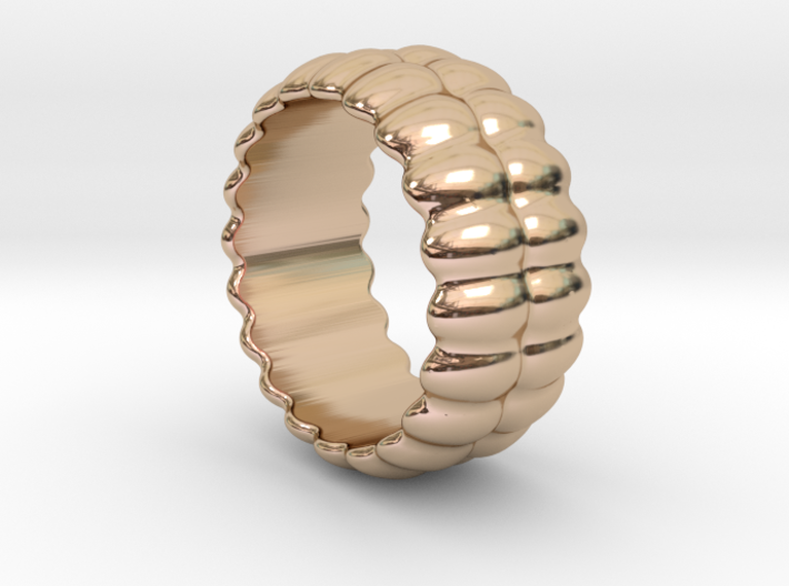 Mirror Ring 19 - Italian Size 19 3d printed