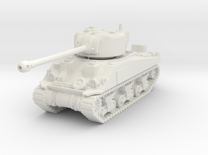 1/100 (15mm) M4 Sherman Firefly (F.O.W) Tank Five 3d printed