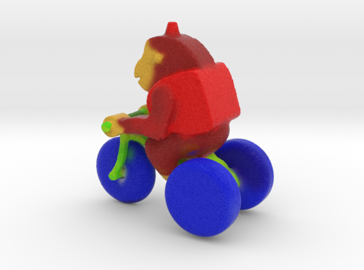 Ape on the road 3d printed ha  ha ha