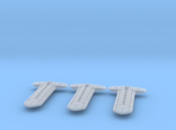Terran (TFN) Light Cruiser Datagroup 3d printed