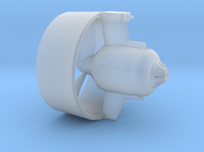 Thrustermodell für Quest7 ROV 1:20 3d printed